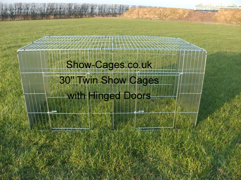 "30"" Poultry show cage, 30"" tall show cage suitable for runner ducks, asian hardfeather, geese, turkey etc."